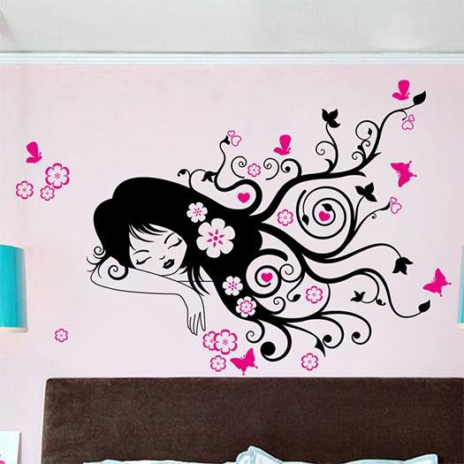 vinilos decorativos cuarto de las j venes y adolescentes