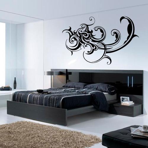 Vinilos para dormitorios matrimonio gallery of beautiful for Vinilo habitacion matrimonio