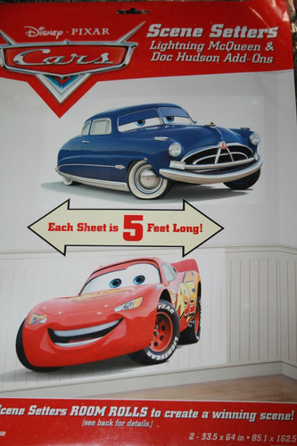 vinilos decorativos cuarto infantil cars