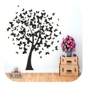 Vinilos Decorativos De Pared, Arboles Y Florales + Regalo!!!