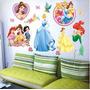 Adhesivo Para El Dormitorio: Princesas De Disney
