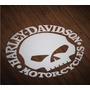 Harley Davidson Calavera Logo Adhesivo