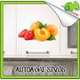 Sticker Vinilos Osandme Decora Cocina Hogar Fruta Come Cafe