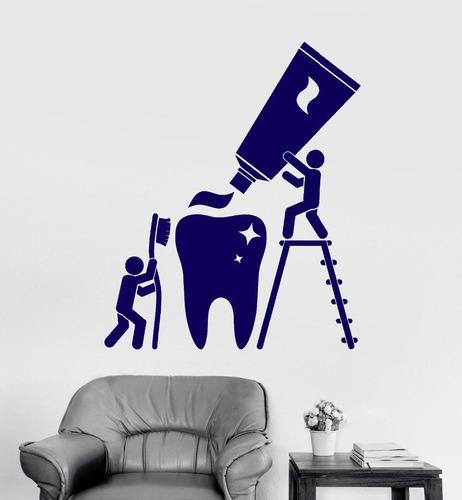 vinilos decorativos dentistas odontología limpieza dental