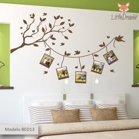 Vinilos Decorativos Para Paredes De Habitaciones.Vinilos Decorativos Dormitorio Habitacion Pared Bedb 10al18