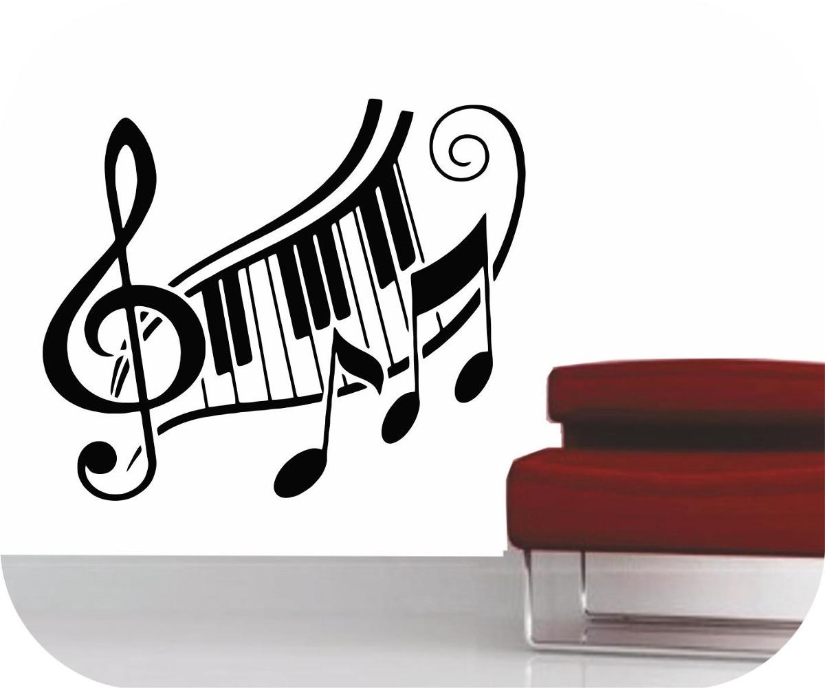 Vinilos decorativos florales musica arboles decoracion - Vinilos decorativos musicales ...