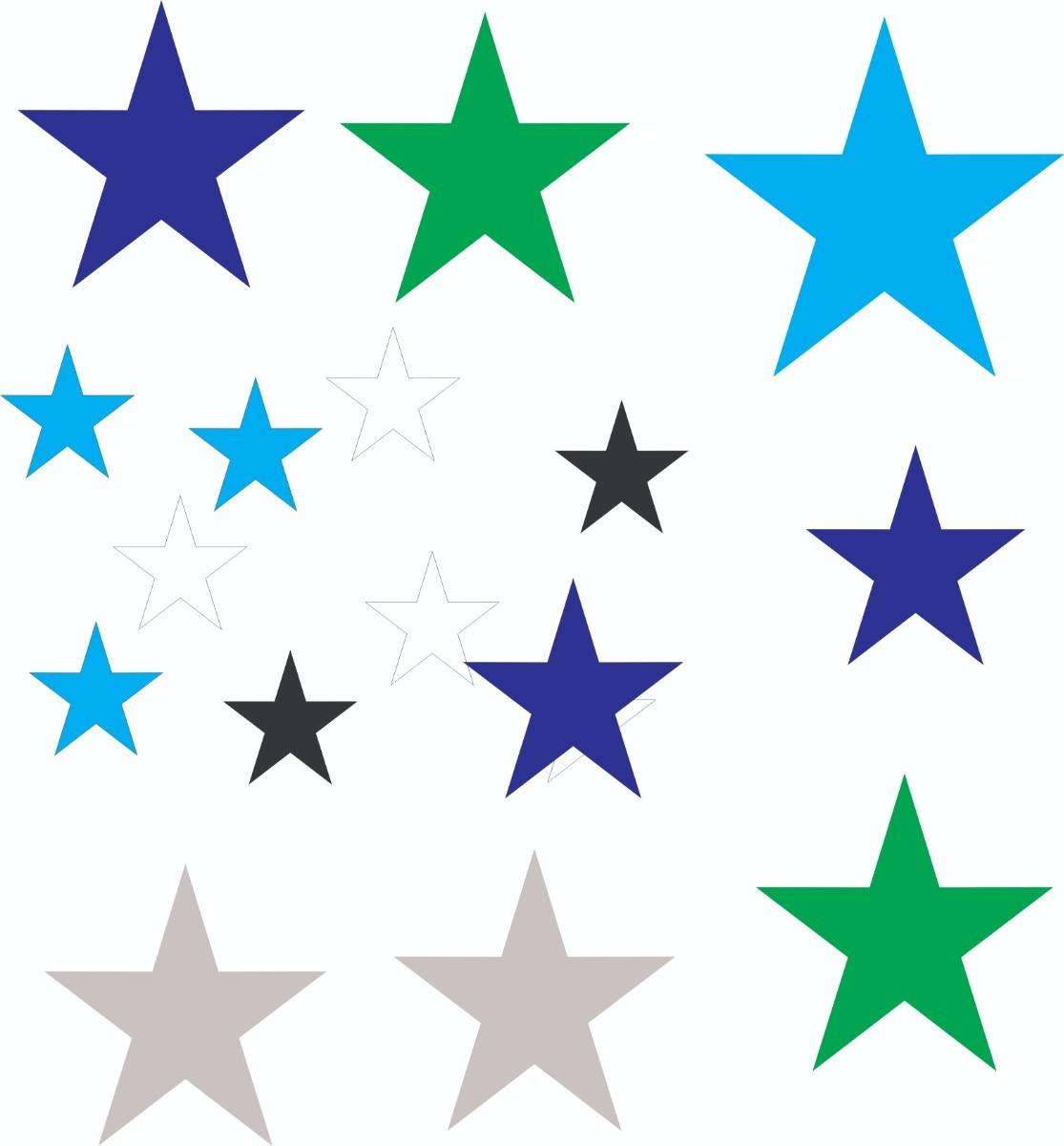 2cfa84397e5 Vinilos decorativos formas corazones circulos estrellas cargando zoom jpg  1115x1200 Formas de estrellas