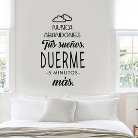 Vinilos Decorativos Frase Sueños Dormitorio Iconoprint