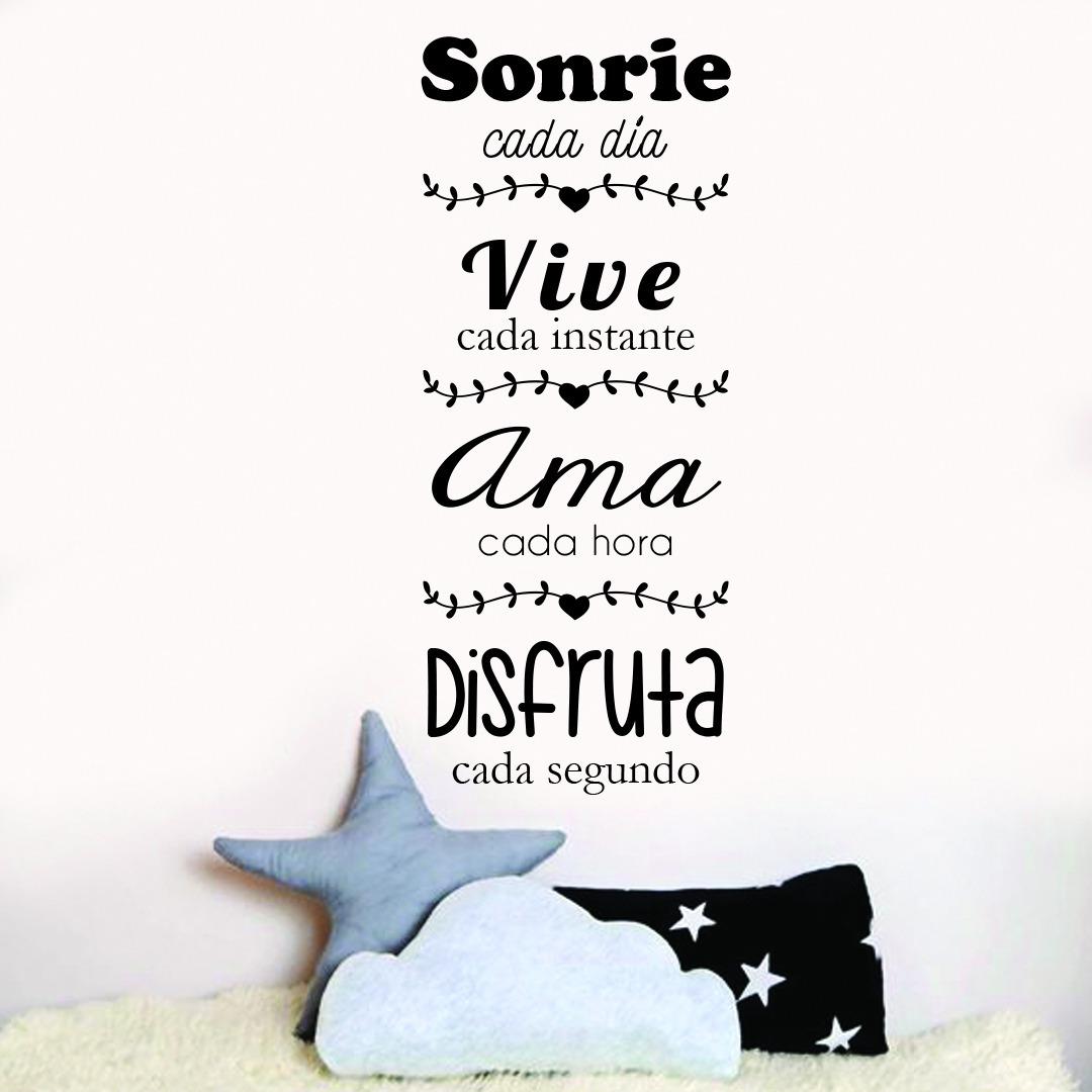 Vinilos Decorativos Frases 5 Palabras Más Pajaros Volando
