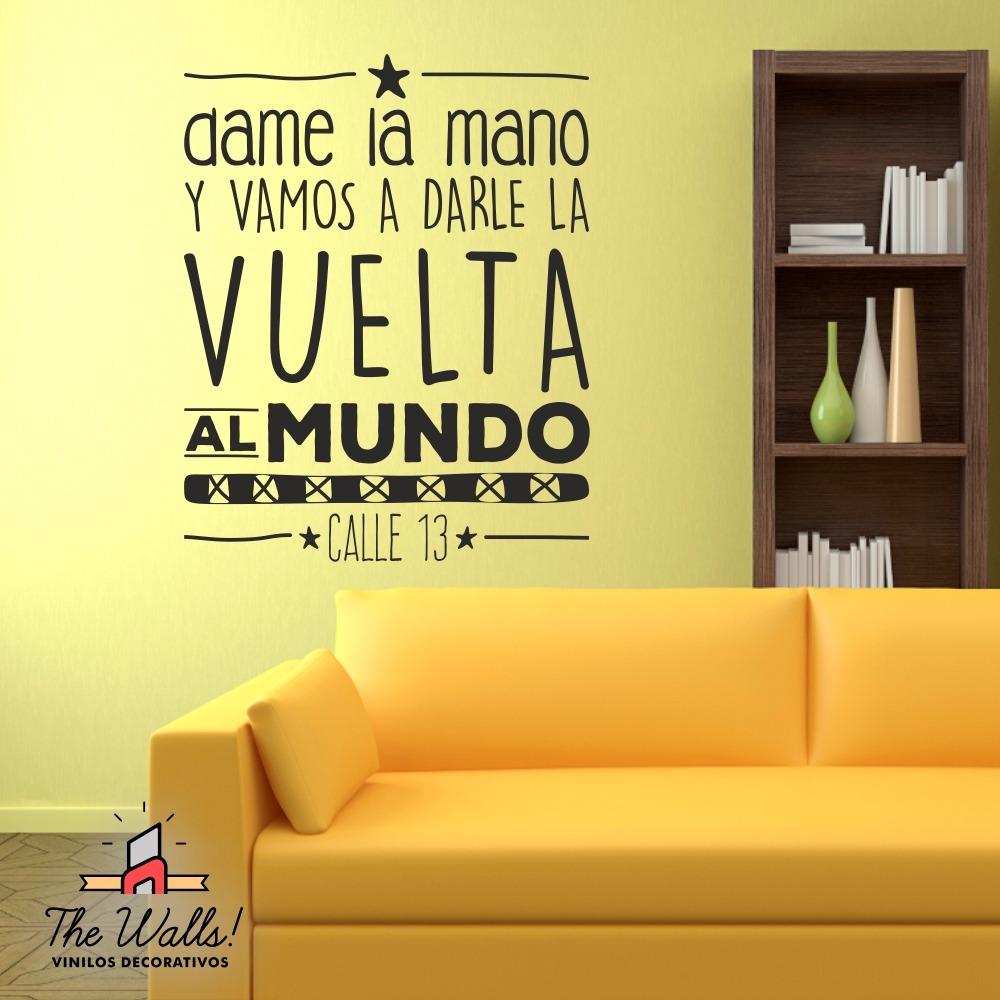 Vinilos Decorativos Frases Calle 13