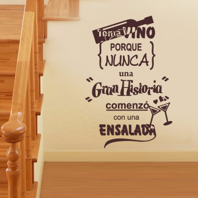 Vinilos Decorativos Frases De La Vida Amor Y Mas