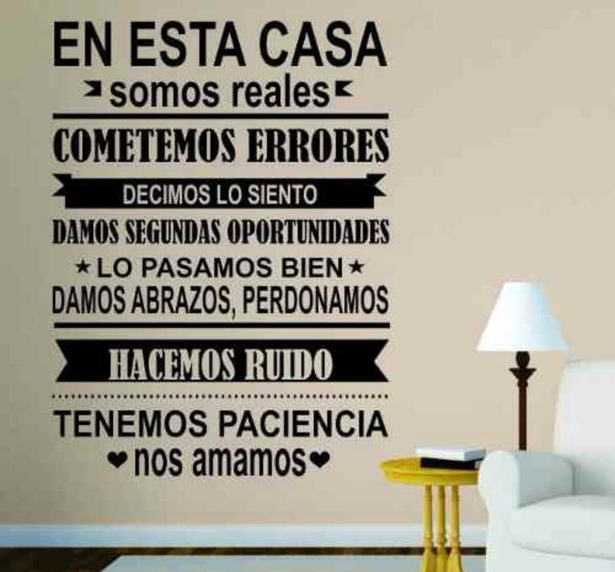 Vinilos Decorativos Frases Letras Murales F Cil
