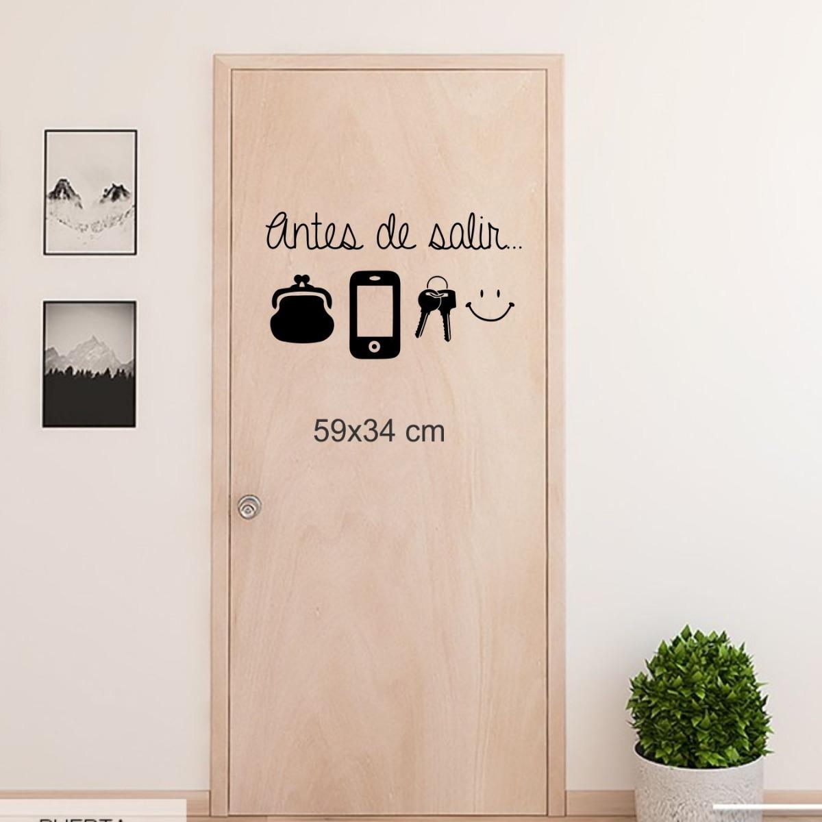 Vinilos Decorativos Frases Textos Para Puertas Pared Y Mas