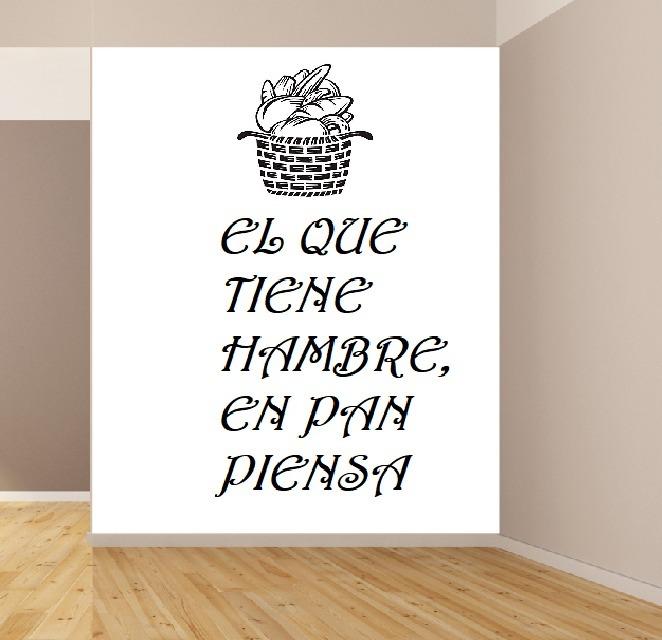Vinilos Decorativos Frases Y Textos Panaderias 1m X 60cm
