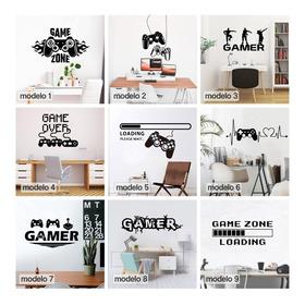 Vinilos Decorativos Gamers Videojuegos Xbox Ps4 50x60cm
