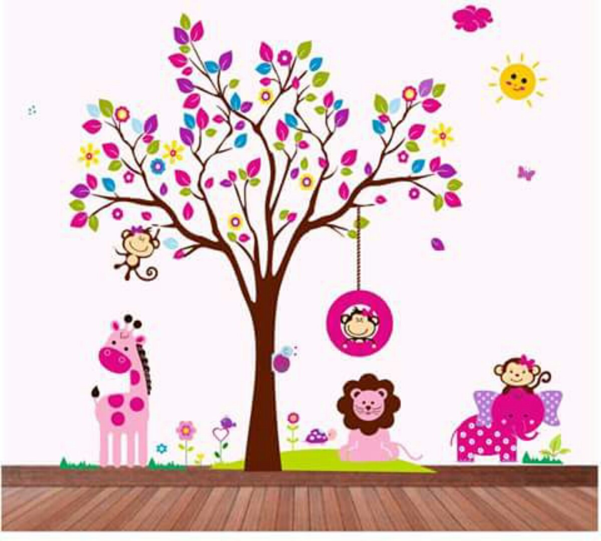 Vinilos decorativos grandes bebes cuartos infantiles cali for Vinilos decorativos para ninas