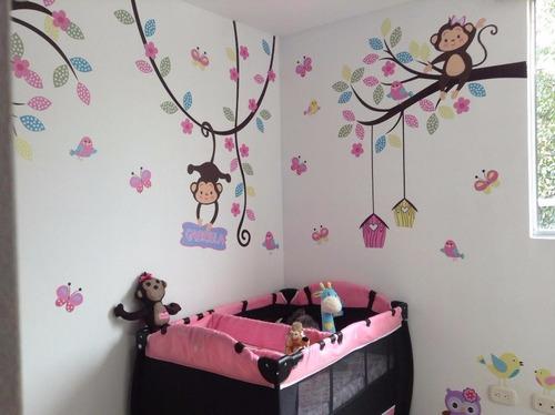 vinilos decorativos grandes bebes cuartos infantiles, cali