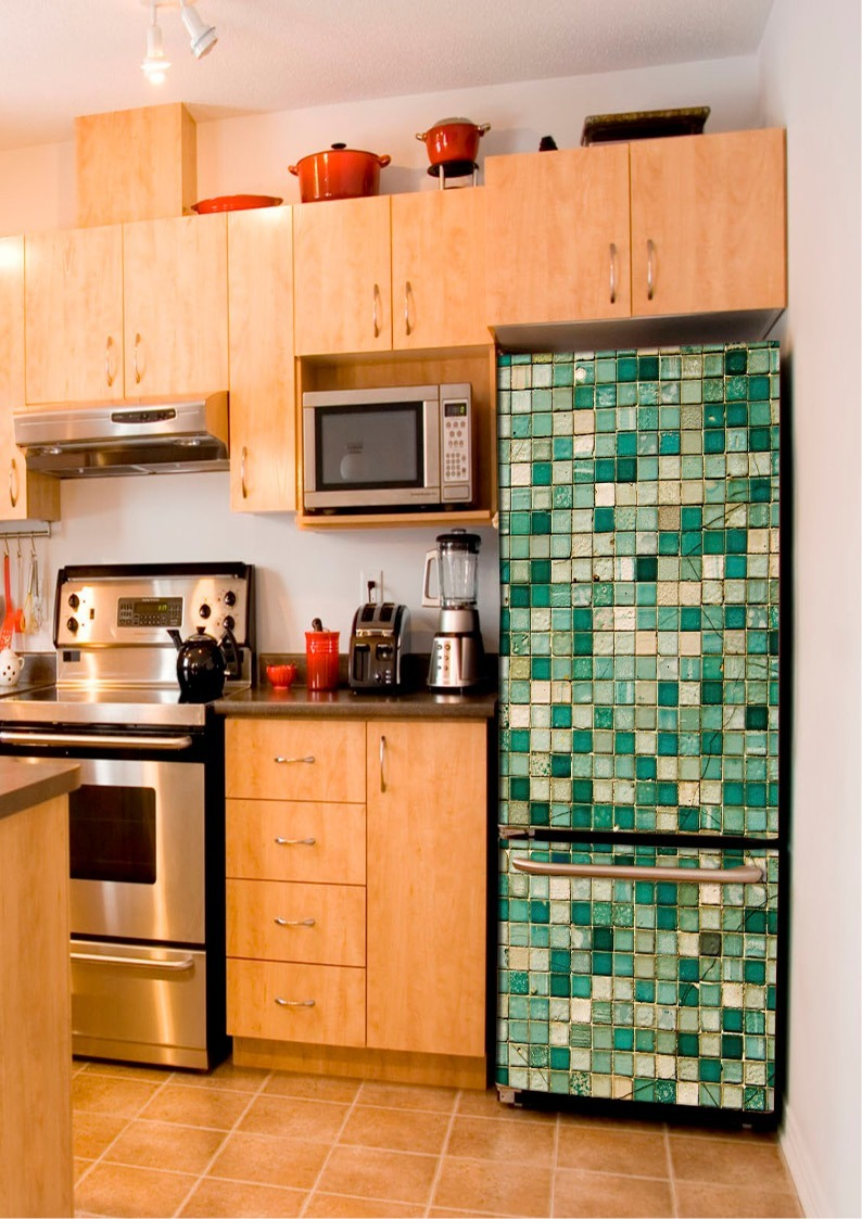 Vinilos decorativos para muebles de cocina affordable si - Vinilos decorativos para muebles ...