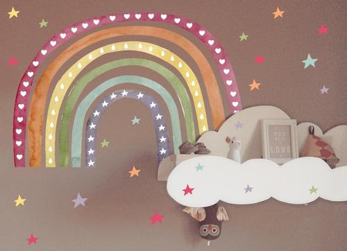 vinilos decorativos infantil arco iris arcoiris textura