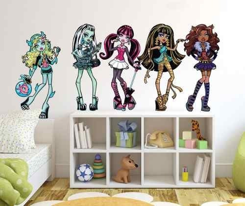vinilos decorativos infantiles, a todo color de monster high
