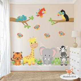 Vinilos Para Decorar Habitaciones Infantiles.Vinilos Decorativos Infantiles Arboles Animales Aib 11 Al 20