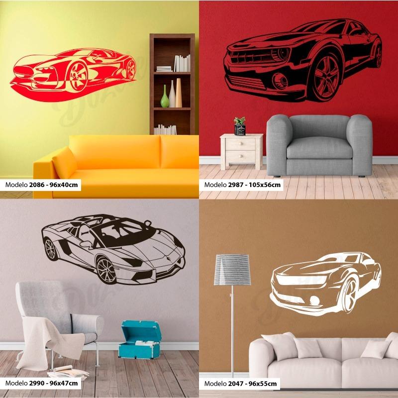 Vinilos Decorativos Infantiles Auto Pista Coche Carrera Cars
