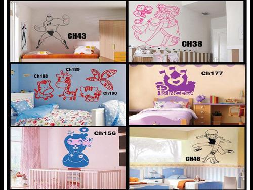 vinilos decorativos  infantiles con medida