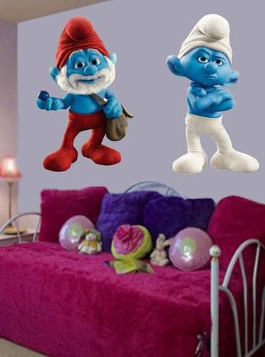 vinilos decorativos infantiles fullcolor, troqueladas