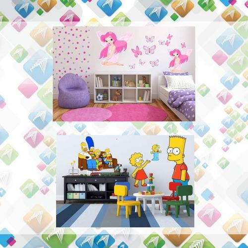 vinilos decorativos infantiles kit 66x66cm