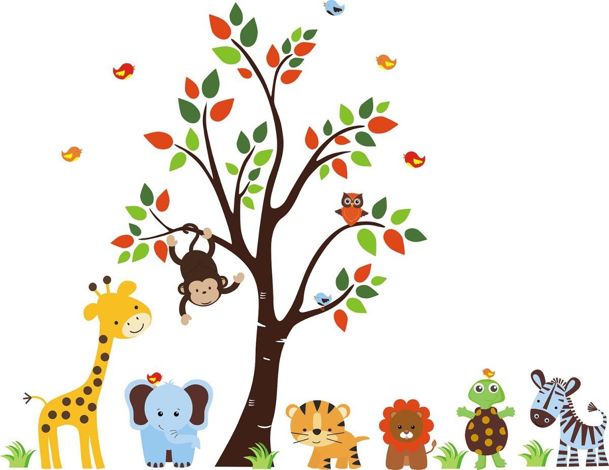 Vinilos decorativos infantiles murales fotomurales Vinilos infantiles de arboles