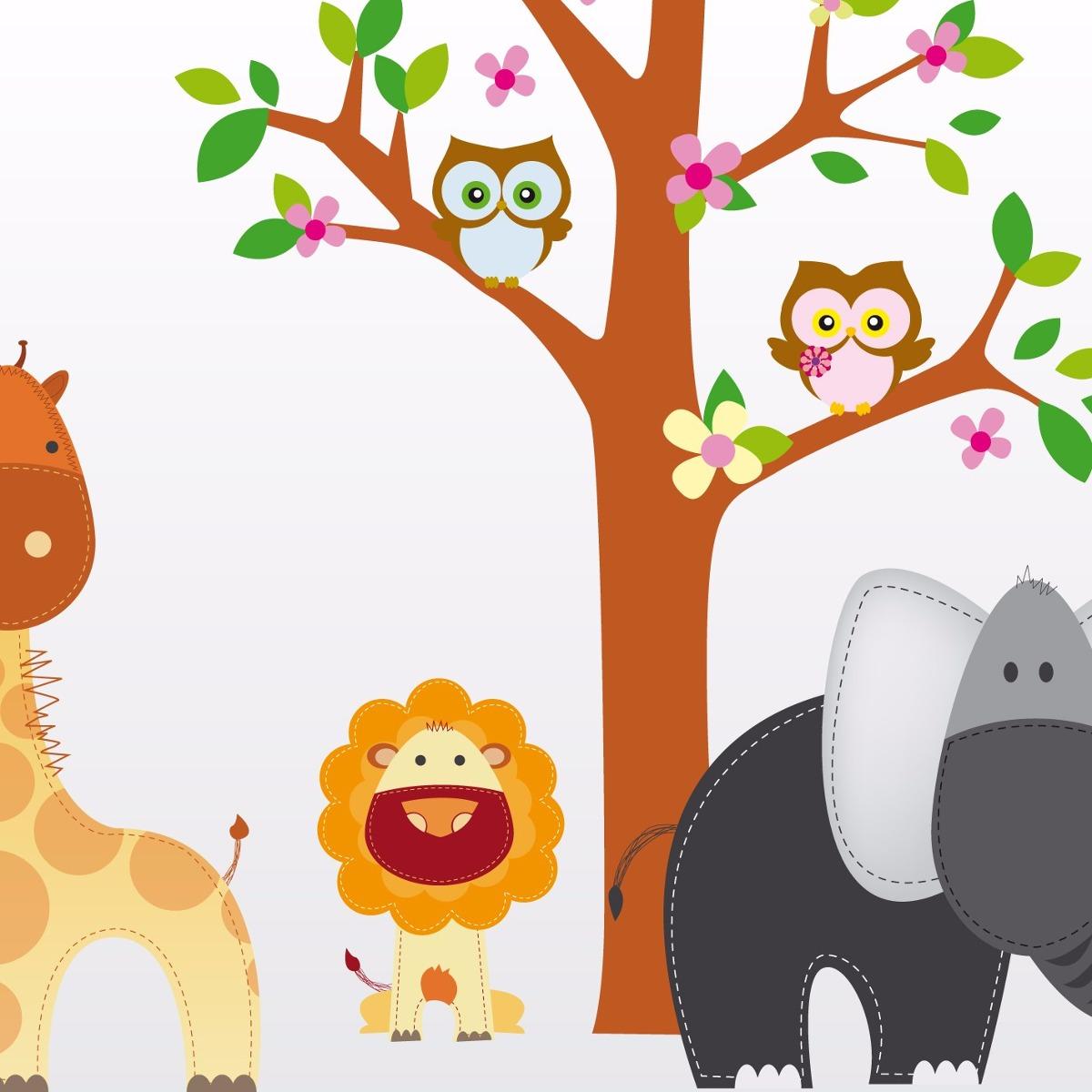 Vinilos para pared infantiles vinilos decorativos para - Dibujos infantiles para decorar paredes ...