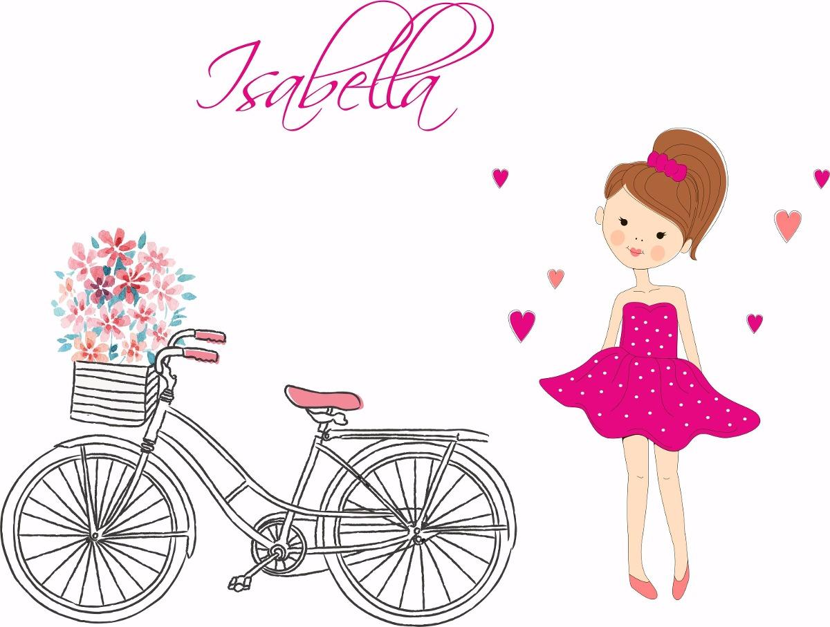 Vinilos decorativos juveniles ni as bailarinas flores bici en mercado libre - Vinilos decorativos juveniles ...
