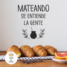Vinilos Decorativos Mate Frases Cocina