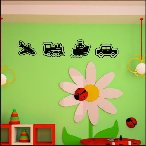 vinilos decorativos medios de transporte - vehiculos
