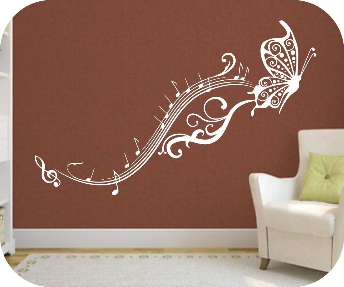 vinilos decorativos motivo musicales rotulados paredes