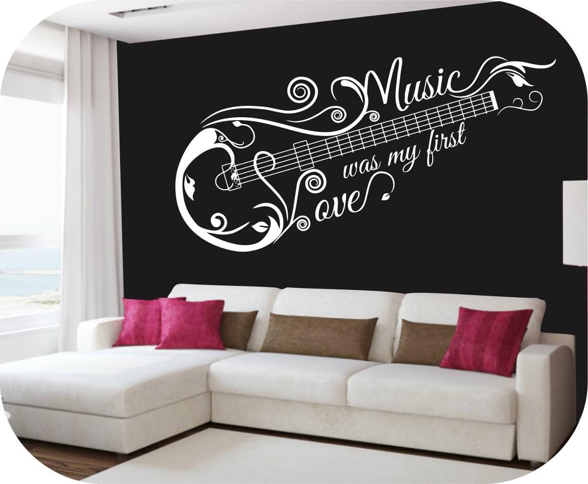 Vinilos decorativos motivo musicales rotulados paredes - Vinilos decorativos musicales ...