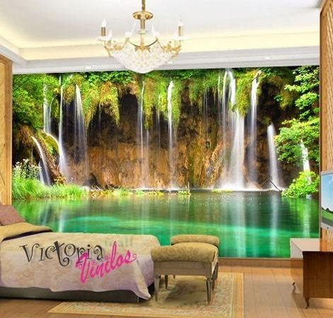 Vinilos Decorativos Murales Paisajes 298200 En Mercado Libre