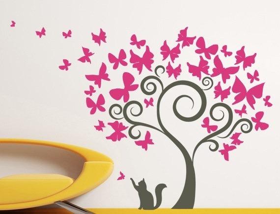 Vinilos decorativos nenes nenas y bebes arbol y for En donde venden vinilos decorativos