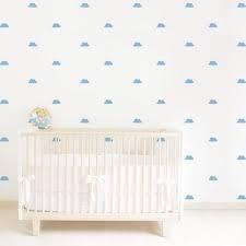 vinilos decorativos nubes 8 cm x 50 unidades para pared