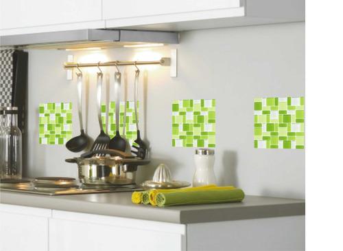 Vinilos decorativos para azulejos. cocina. baño. pack x 100u ...