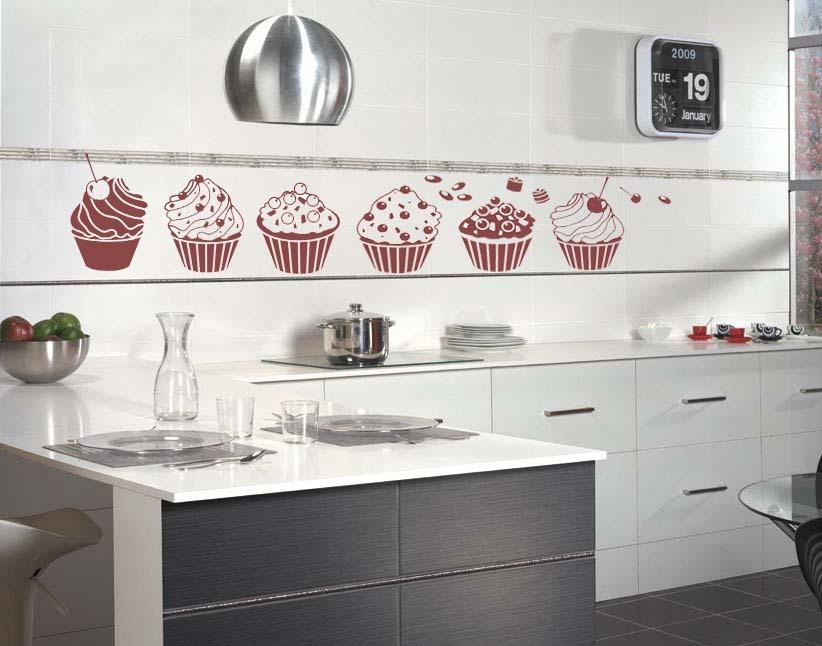 Vinilos decorativos para tu cocina s 40 00 en mercado libre for Vinilos azulejos de cocina