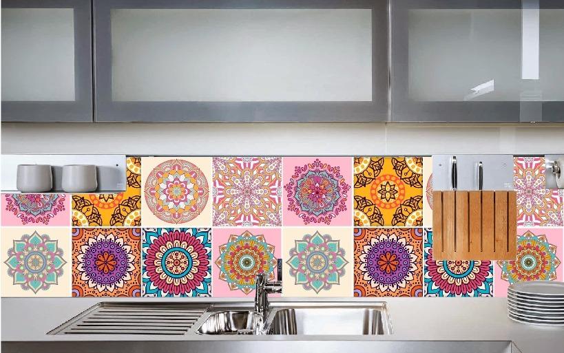 Azulejos vinilicos para cocinas simple vinilos adhesivos - Azulejos vinilicos ...