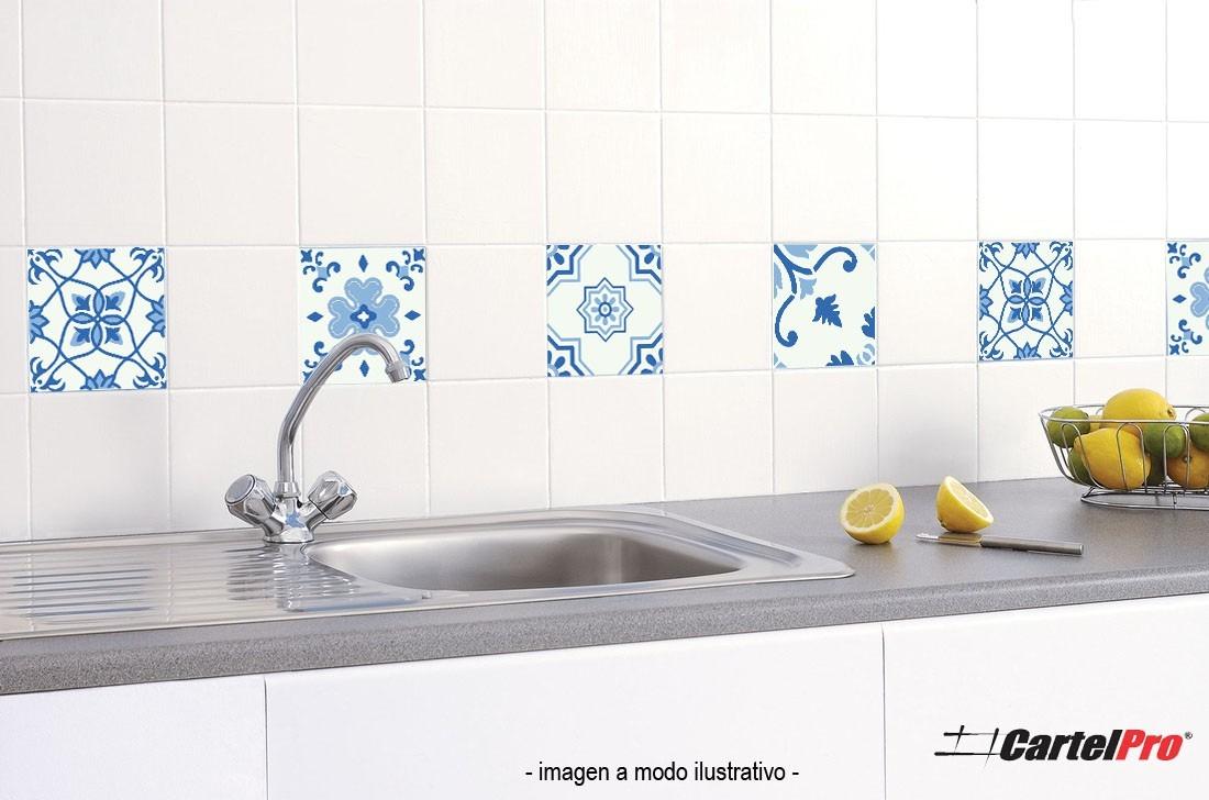 Bonito vinilos para azulejos cocina fotos vinilos for Azulejos decorativos cocina