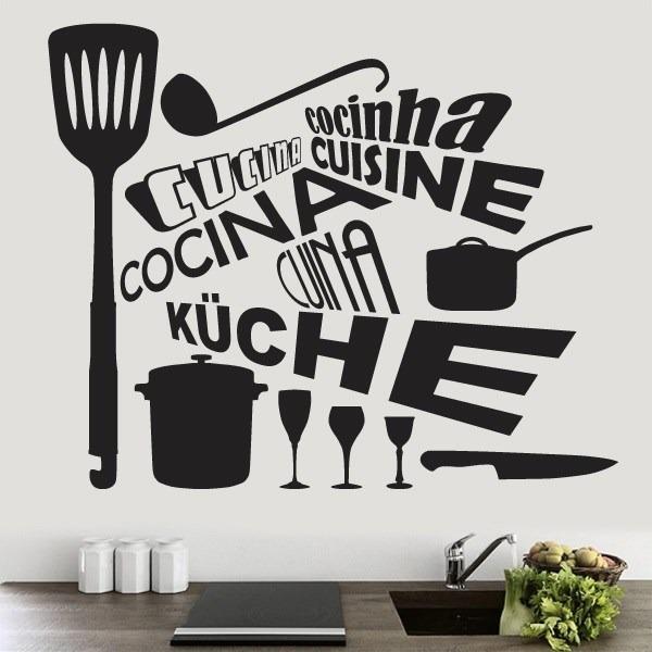 Vinilos decorativos para cocina stickers en for Donde encontrar vinilos decorativos