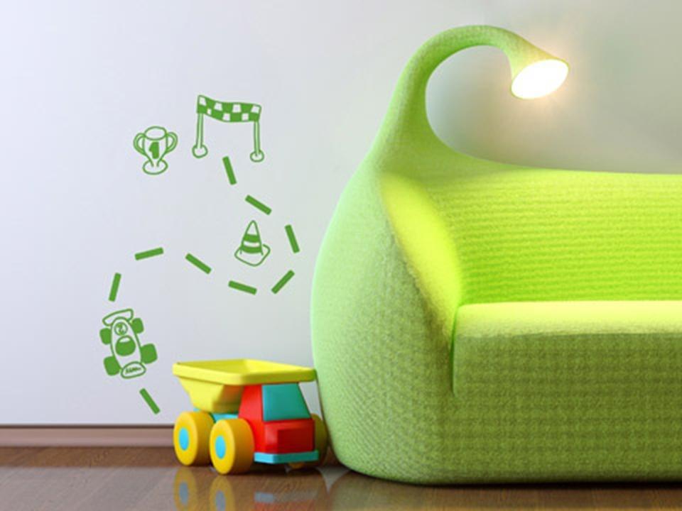 Vinilos decorativos para decorar paredes infantil 5 for Decorativos de pared