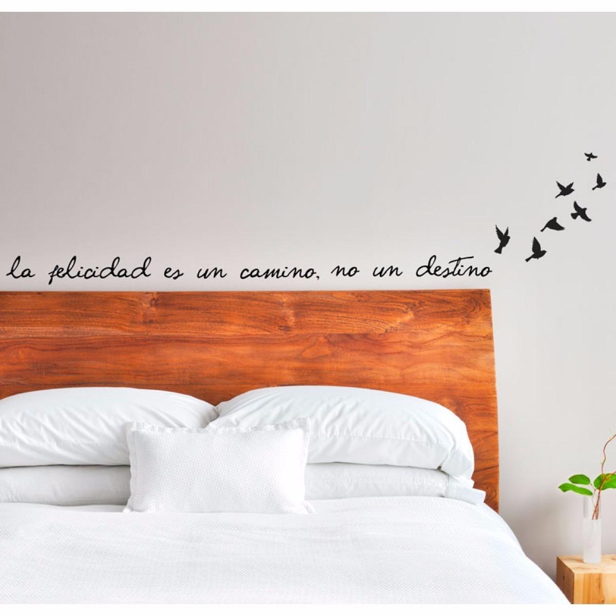 Vinilos Decorativos Para Dormitorios Cabeceras De Cama - $ 450,00 en ...