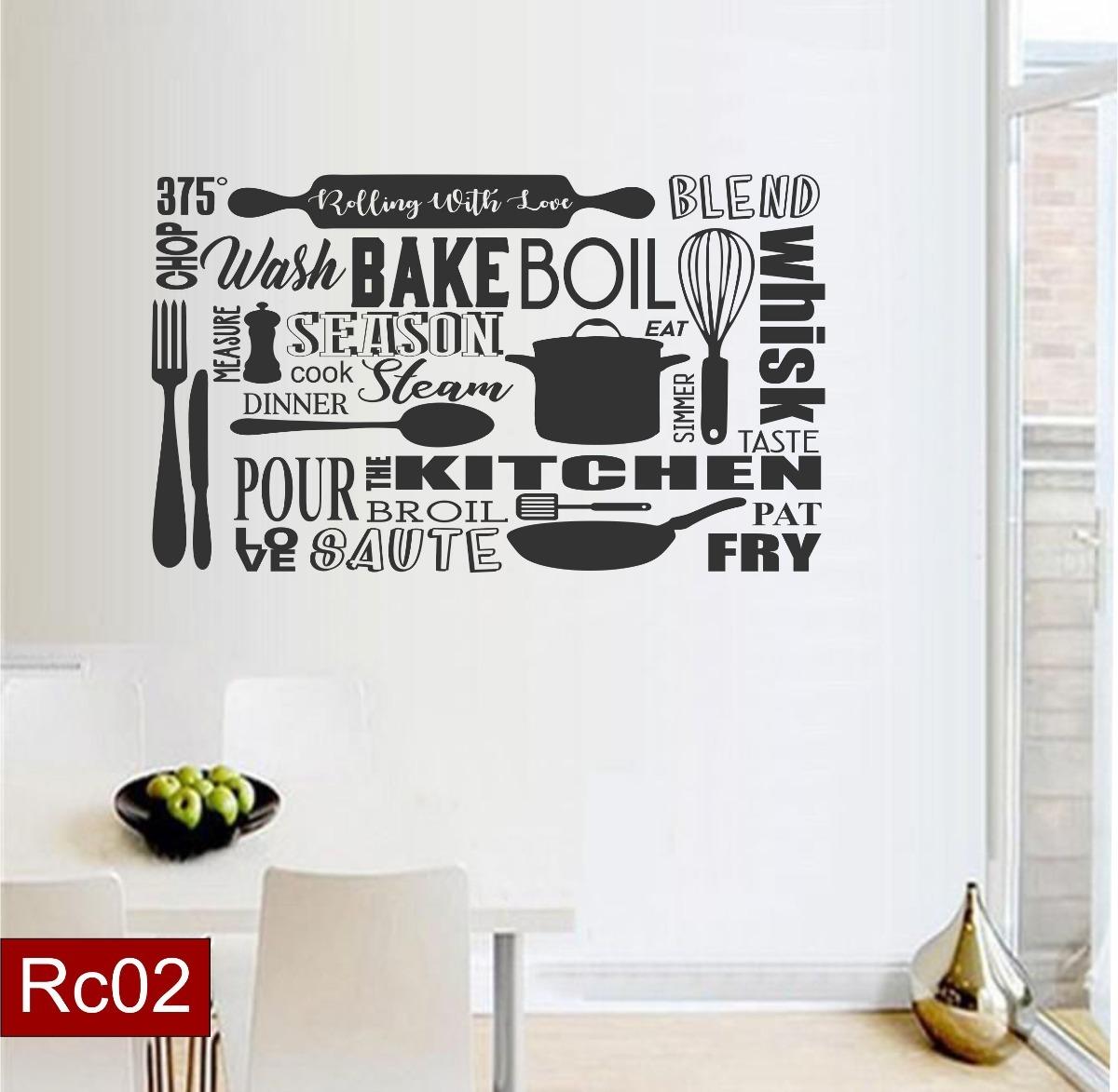 Vinilos De Moda.Vinilos Decorativos Para La Cocina Comedor Decoracion Moda