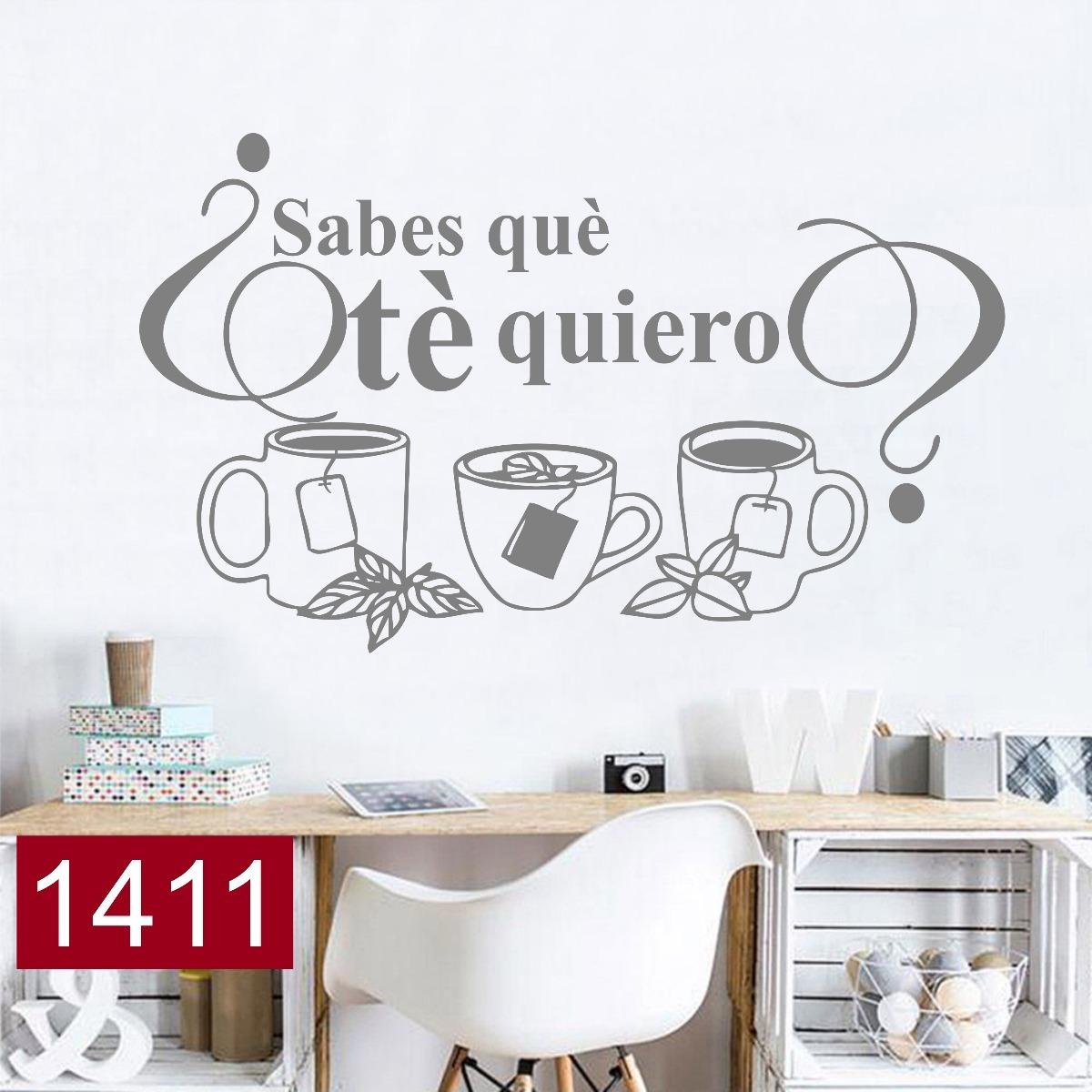 Vinilos Decorativos Para La Cocina Frase Te Moderno Comedor - $ 495 ...