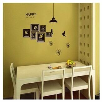 Vinilos decorativos para pared cuadros hojas happy jm7193 - Vinilos decorativos para exteriores ...