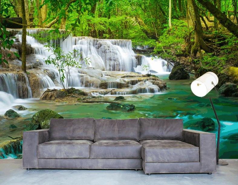 Fotomurales para paredes stunning increibles fotomurales for Murales decorativos paisajes